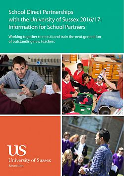 School Direct Leaflet cover: July 2015