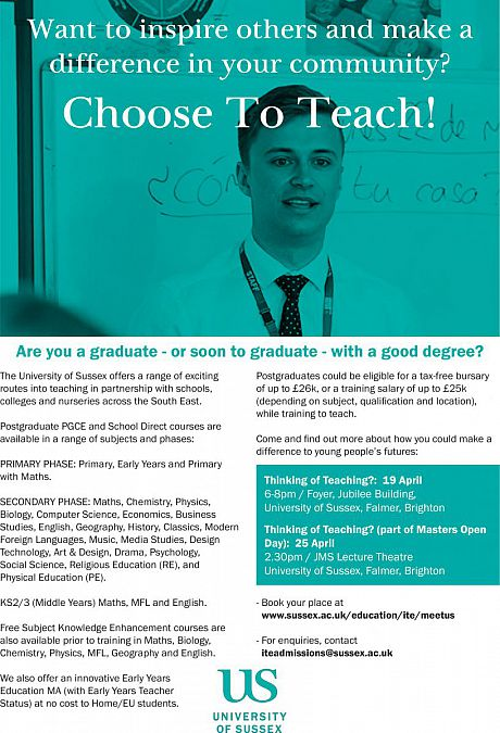 Choose To Teach poster image