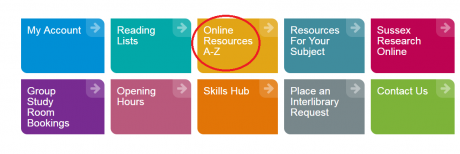 A-Z online resources