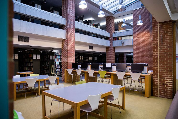 Ground floor Click and Study space