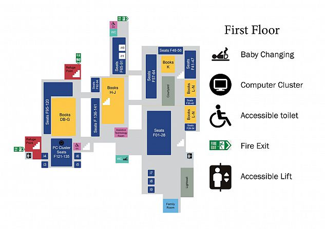 Graphic of First Floor Floorplan