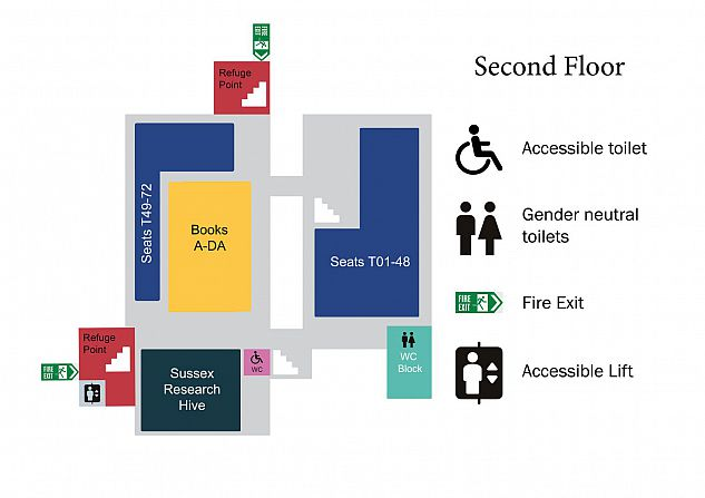 Graphic of Second Floor Floorplan