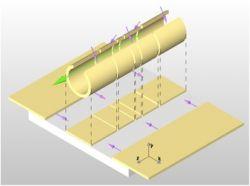 coplanar waveguide structure