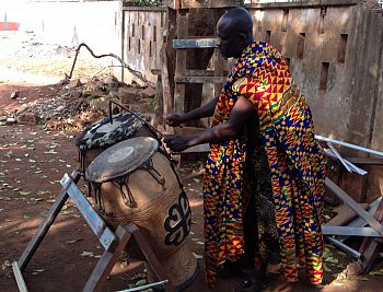 Talking drums of Ghana