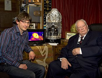 sky at night - Seb Oliver with Patrick Moore