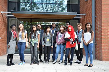 Year 12 students participate in the Allen & Overy Summer School in 2014