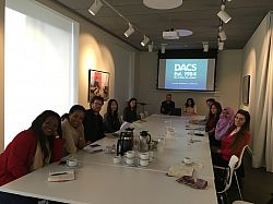 Sussex Law students visit the Design and Artists Copyright Society (DACS)