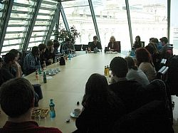 PolCES students at the Bundestag, Berlin