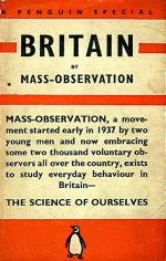 Mass Observation book cover