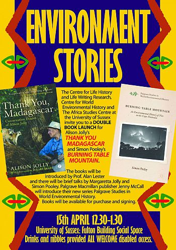 Environment Stories booklaunch