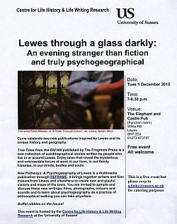 Lewes Life Writing event