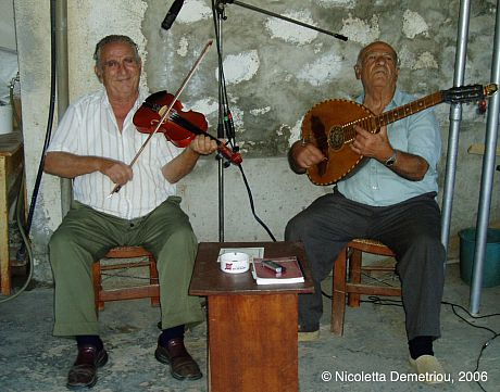 Cypriot Fiddler Project