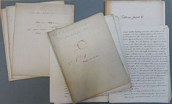 Mary Merrifield 1840s letters