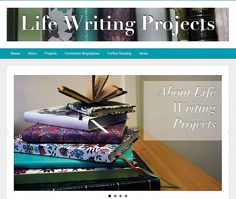 Life Writing Projects website pic