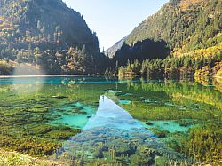 Jiuzhaigou nature reserve and national park, Sichuan Province