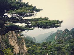 Mountain landscape in China