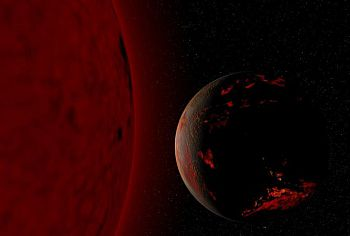 As the Sun matures into a Red Giant, the oceans will boil and Earth will become uninhabitable. Fsgregs, CC BY-SA