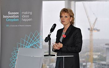 Anna Soubry MP opens Sussex Innovation Croydon