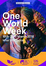 One World Week 2018 programme