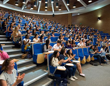 ISS summer school lecture theatre