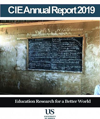 CIE Annual Report 2019 cover