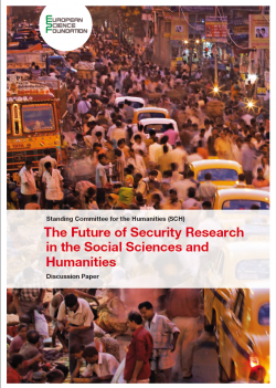 Future of security research discussion paper front page - picturing a crowd in India