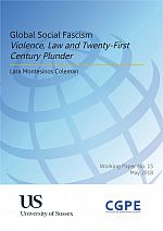 Global Social Fascism: Violence, Law and Twenty-First Century Plunder
