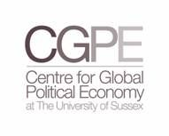 The Centre for Global Political Economy (CGPE)