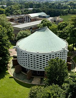 Meeting House from above