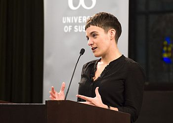 Martha Spurrier - speaking at the Draper Lecture 2017