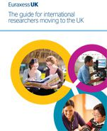 Picture of front cover of the euraxess guide for international researchers