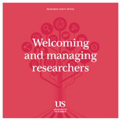 Welcoming and managing researchers