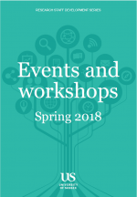 Research Staff Development Series Spring 2018 Events and Workshops