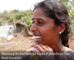 Maximising the developmental impact of philanthropy: from theory to practice