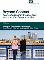 Beyond Contact final report front cover