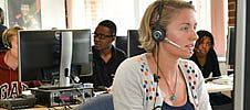 NHS direct phone operator
