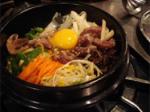 Bibimbap (mixed rice with vegetables) pics