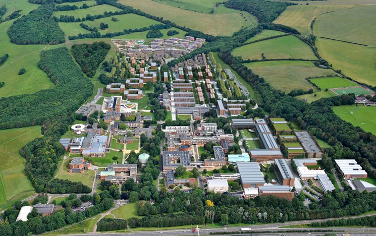 Sussex University aerial view