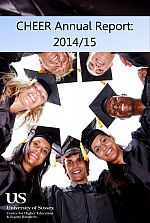 CHEER Annual Report 2014/15 cover