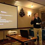 Paul Roberts speaks at the SRHE's Annual Research Conference in Wales, Dec 2015