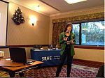 Dr Mayte Padilla-Carmona speaks at the SRHE's Annual Research Conference in Wales, Dec 2015