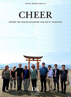 CHEER Annual Report 2016/17 cover