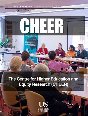 CHEER Annual Report 2017/18 cover