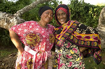 Binti Fatima and Bi Salehe, traditional unyago practitioners