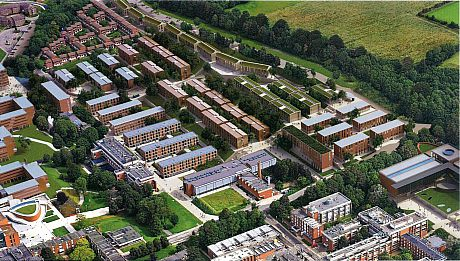 Artist's impression of East Slope redevelopment