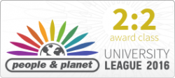 People and Planet 2016 logo