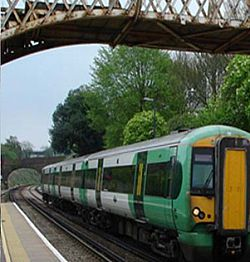 west sussex student rail travel