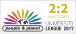 People and Planet 2017 Results Logo