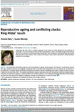 Reproductive ageing and conflicting clocks: King Midas' touch