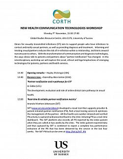 CORTH New Health Communication Technologies - Programme